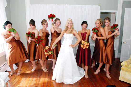 Bridesmaids bridal party