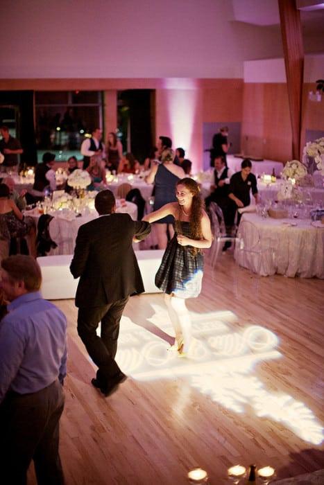 Dance floor Gobo for Wedding