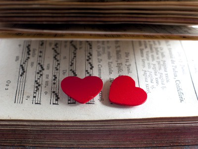 Love Hearts on Sheet Music