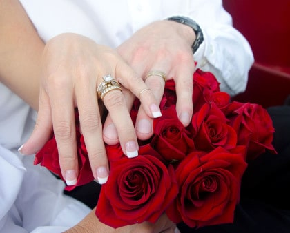 Just Married Rings